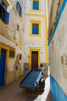 Man with Cart | Essaouira, Morocco