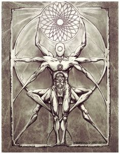 ideas tattoo mandala geometric symbols sacred geometry for 2019 Mandala Nature, Flower Mandala, Spiritual Tattoo, Image Mandala, Tattoo Geometrique, Tattoo Symbole, Sacred Geometry Tattoo, Esoteric Art, Occult Art