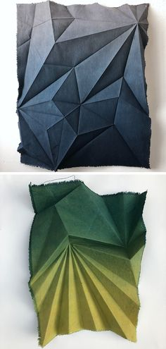 Colossal Art, Natural Dyeing, Origami Design, Installation Art, Fiber Art, Spinning, Book Art, Brain, Arts And Crafts