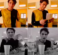 Rob as Cedric Diggory.