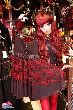 Amihamu with new spiderweb lace summer dress in Sexpot Revenge