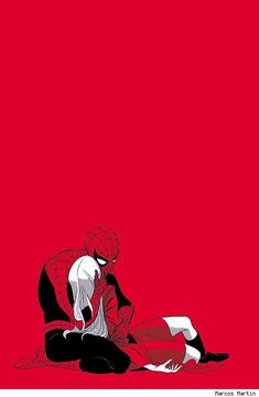 Spider-Man and Gwen Stacy by Marcos Martin :( - Best Art Ever (This Week) - 02.15.13