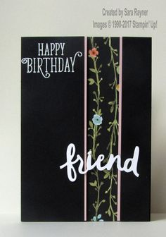 Whole Lot of Lovely peek through card using supplies from Stampin' Up!