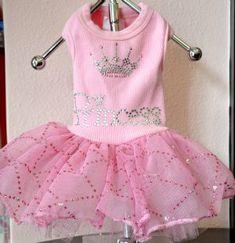 Princess Dog Tutu Dress - Dog Clothes - Cassie's Closet