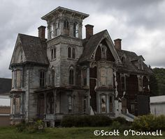 destroyed-and-abandoned: Coudersport, PA Mansion Source: scottnj (flickr)scottnj:My photo of this awesome abandoned treasure. Found on Rt. ...