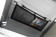 Netz im Aufstelldach - Schlafdach € 49.- für Zeitschriften - Bücher - Kleider - KrimsKrams und vieles mehr  VW Camper Bus