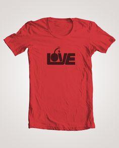 john manley's love bomb t-shirt!!!!