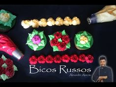 Confeitando com bicos Russos / Confeitando nozzles with Russians - YouTube
