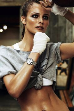 Vogue Paris April 2012 : KNOCK OUT