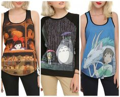 New Studio Ghibli Designs From Her Universe Are Here Read more at http://fashionablygeek.com/t-shirts/her-universe-studio-ghibli/#l48iuz4ctBhHe1BJ.99