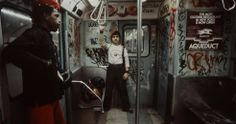 #photography: #nyc subway in the 1980's by #ChristopherMorris