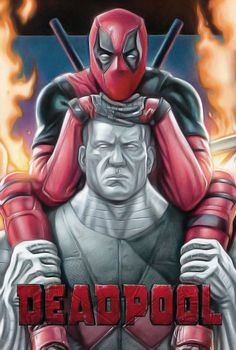 (Deadpool and Colossus . Just Deadpool) By: Omikonemswveridze. Deadpool Love, Deadpool Art, Deadpool And Spiderman, Lady Deadpool, Colossus Deadpool, Deadpool Halloween, Marvel Comics, Marvel Heroes, Ryan Reynolds
