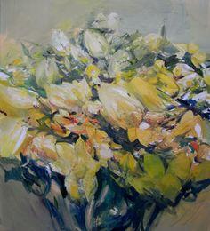Narzissen & Tulpen | Öl auf Leinwand