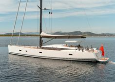 Great profile and stylish look of CNB BORDEAUX 76 sailing yacht charter boat Leo
