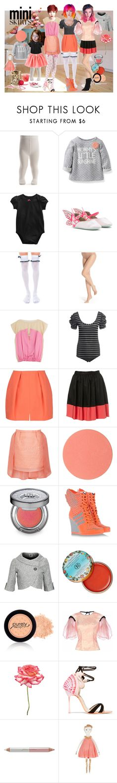 """Just me and my Mini"" by verysmallgoddess ❤ liked on Polyvore featuring Carter's, Gymboree, Sophia Webster, Leg Avenue, Donna Karan, Vionnet, Reiss, Carven, Emilio De La Morena and Chantecaille"