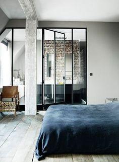 Sur Pinterest comme sur Côté Maison, on craque souvent pour les cloisons vitrées - Pinterest : les photos déco les plus épinglées - CôtéMaison.fr
