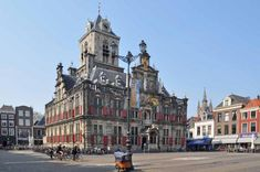 Delft, Oranjestad, Holland, Street View, Museum, Mansions, House Styles, Om, Alcohol