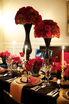 65 best red centerpieces images red centerpieces red wedding rh pinterest com