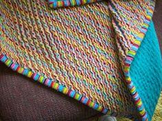 faux chenille baby blanket tutorial diy pinterest baby blanket tutorial and - Chenille Blanket