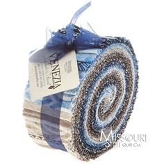 Frost Glitter Jelly Roll From Missouri Star Quilt Co