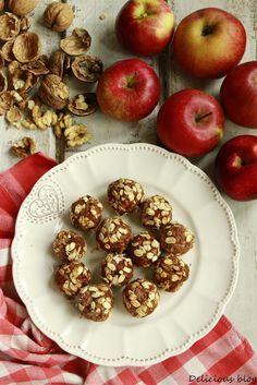 Delicious blog: Jablečné kuličky