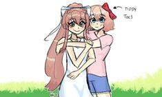 Literature Club, Cool Girl, Video Game, Horror, Princess Zelda, Japanese, My Love, Cute, Anime