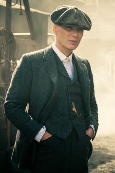 Traditional english gent with flat cap #peakyblinders