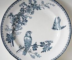 A Country Farmhouse: Transfer Ware