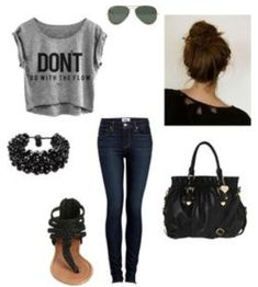 Cute sandles outfit