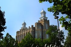This is why I love being Mormon -  Logan LDS Temple / http://www.mormonproducts.net/?p=429