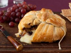 Brie En Croute from FoodNetwork.com    Made this for Thanksgiving. It was easy and a big hit!