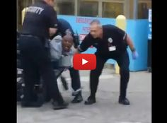 Facebook Video Shows a Disturbing Police/Security Assault on a Man in Front of a Hospital