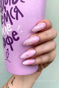 Comment on. Aycrlic Nails, Nail Manicure, Cute Nails, Pretty Nails, Hair And Nails, Summer Nails Almond, Almond Acrylic Nails, Almond Nail Art, Sculpted Nails
