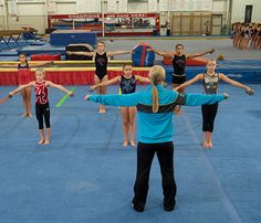 Conditioning circuits from John Geddert and Justin Laury. Gymnasts need to be strong enough to endure what we put their bodies through. Gymnastics Lessons, Gymnastics Academy, Preschool Gymnastics, Gymnastics Floor, Tumbling Gymnastics, Gymnastics Coaching, Gymnastics Training, Gymnastics Workout, Gymnastics Conditioning