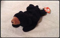 TY ORIGINAL 1993 CUBBIE Gen 3 Hang Gen 1Tush TY Beanie Baby Babies Bear #Ty