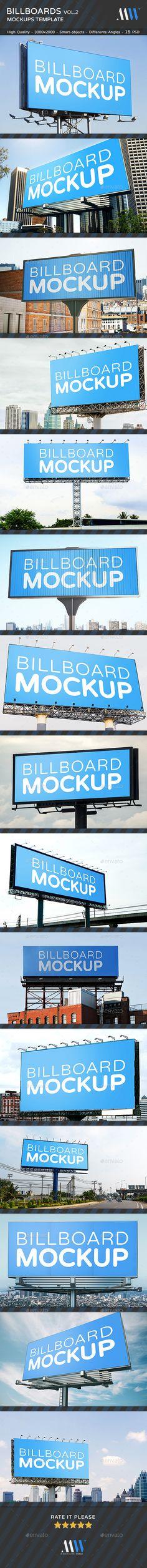 #Billboards #Mock-ups Vol.2 - Miscellaneous Print