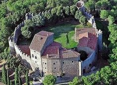 Cortona Castle (this castle is for sale, by the way)