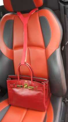 Protect the insides of your bag from falling over when you hit the brakes on your car!