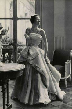 Vintage Christian Dior Evening Gown | 1949...