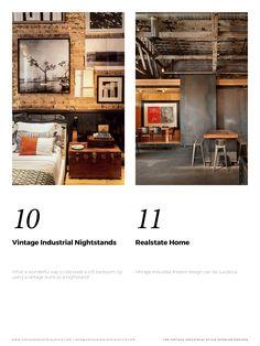 Si vous avez besoin d'idées d'éclairage pour votre prochain projet Delightfull a l'Ebook parfait pour vous! Trouvez les meilleures inspirations sur la façon de créer les designs d'intérieurs industriels vintage.