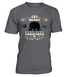 Merry Dark Side Christmas  #gift #idea #shirt #image #funnyshirt #bestfriend #batmann #supper # hot