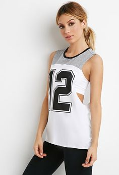 12 Graphic Muscle Tee | Forever 21 - 2000183733