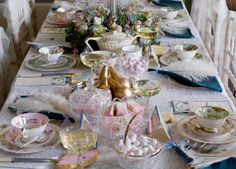Marie Antoinette Wedding Style at Powderham Castle, Devon