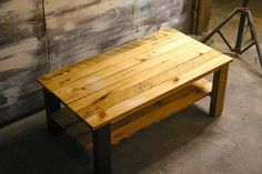DIY Pallet And Sapele Wood Table | 101 Pallets