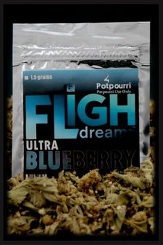 Buy FLIGH BLUEBERRY POTPOURRI...This herbal potpourri is potent, powerful, yet very smooth  smelling. BlueBerry Aroma.... Price: $24.98 Product code: 1273