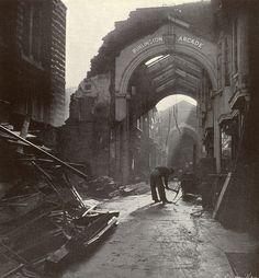 1940. September. Burlington Arcade by Lee Miller