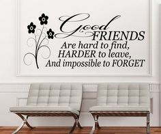"""Good friends are hard to find difficult to leave and impossible to forget…."" #friendship #quotes http://www.wishesquotes.com/friends/friendship-quotes-and-sayings"
