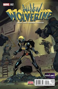LAURA KINNEY EMBRACES HER DESTINY. HERE! COMES! WOLVERINE!