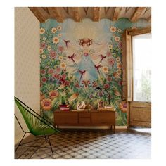 mural garden princess / catalina estrada