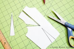 How to move a dart   #sewing